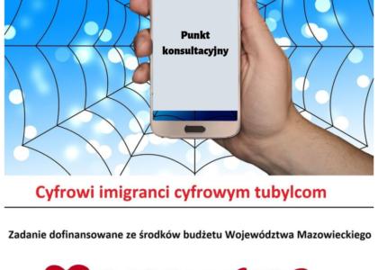 Ruszamy z punktem konsultacyjnym w Pruszkowie w ramach projektu